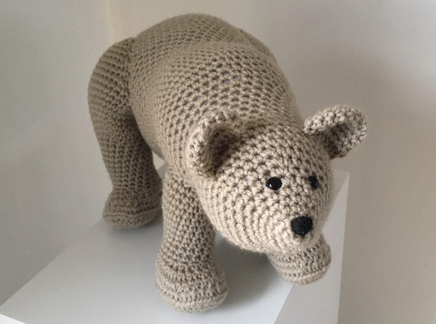 Free Teddy Bear crochet pattern - Amigurumi Today | 1112x1496