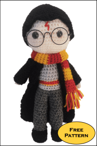 Harry Potter Free Amigurumi Pattern