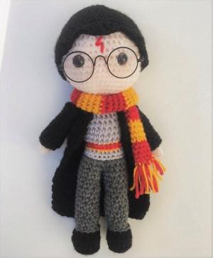 Harry Potter Free Amigurumi Pattern Crochet Pattern