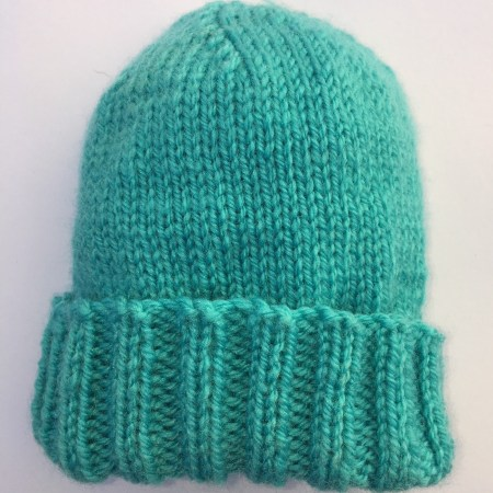 Quick and Easy Free Baby Hat Knitting Pattern - Daisy and ...