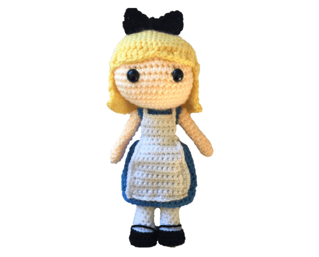 Free Alice in Wonderland Amigurumi Pattern (Crochet) - Daisy and Storm