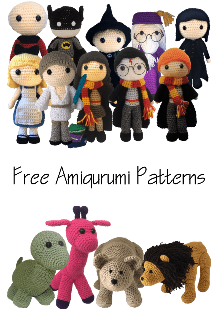 10 Free Crochet Patterns for Ragdoll Amigurumi — Left in Knots | 1024x706