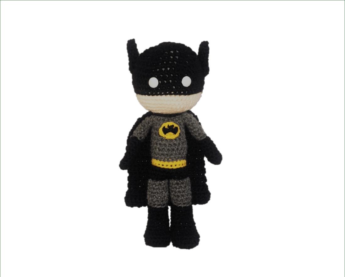 Free Batman Amigurumi Pattern Crochet Daisy And Storm