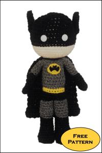 Free Batman Amigurumi Pattern