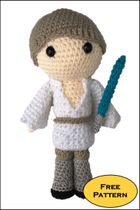 Free Luke Skywalker Amigurumi Pattern