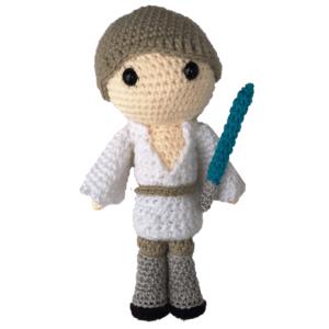 Luke Skywalker Amigurumi Pattern