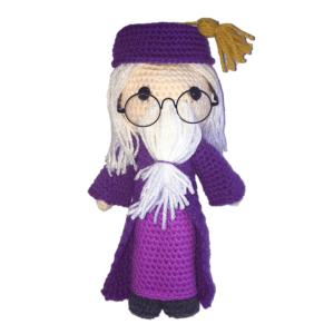Free Professor Dumbledore Amigurumi Pattern
