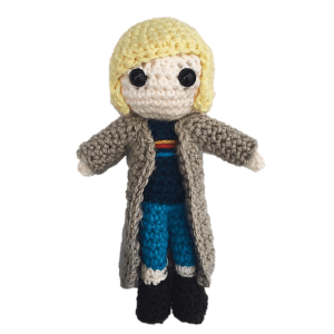 13th Doctor Who Free Amigurumi Pattern Crochet