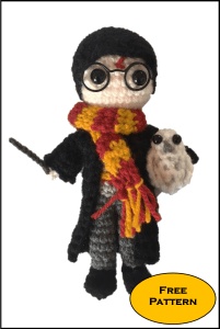 Free Mini Harry Potter Amigurumi Pattern