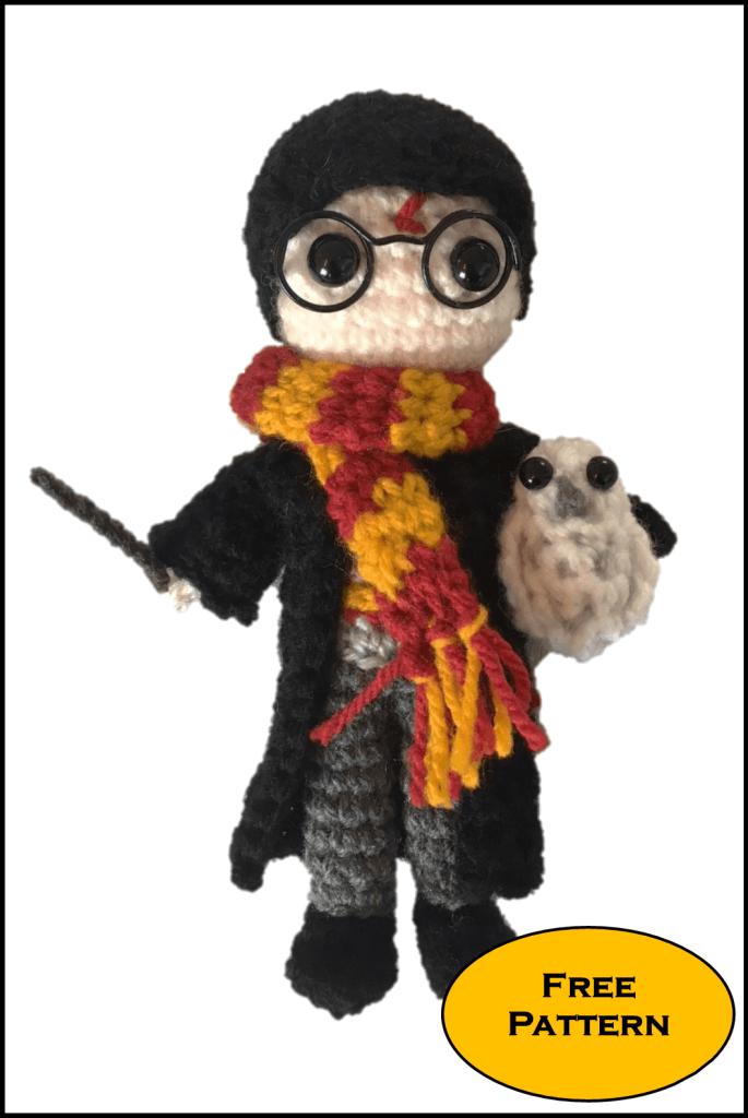 Free Mini Harry Potter Amigurumi Pattern Crochet Daisy And Storm