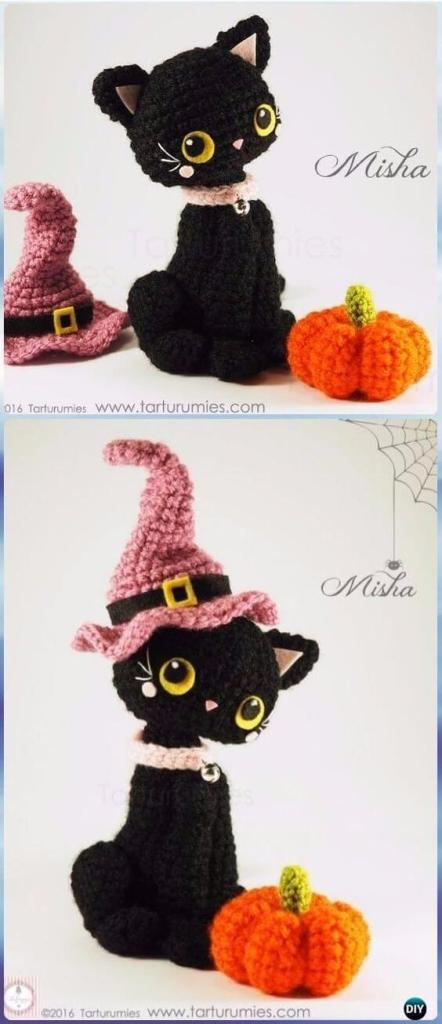 Crochet Halloween Amigurumi Free Patterns Instructions | Idées de ... | 1024x442