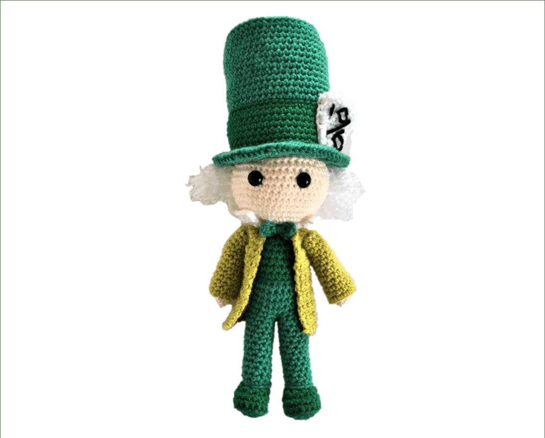 Crochet pattern amigurumi Alice in wonderland | Etsy | 883x1098