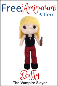 ee Pattern Buffy the Vampire Slayer Amigurumi