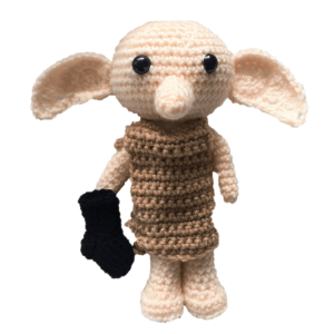 Free Dobby the House Elf Amigurumi Pattern