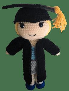 Free Graduation Dolls Amigurumi Pattern Daisy And Storm