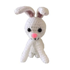 Free Bunny Rabbit Amigurumi Crochet Pattern