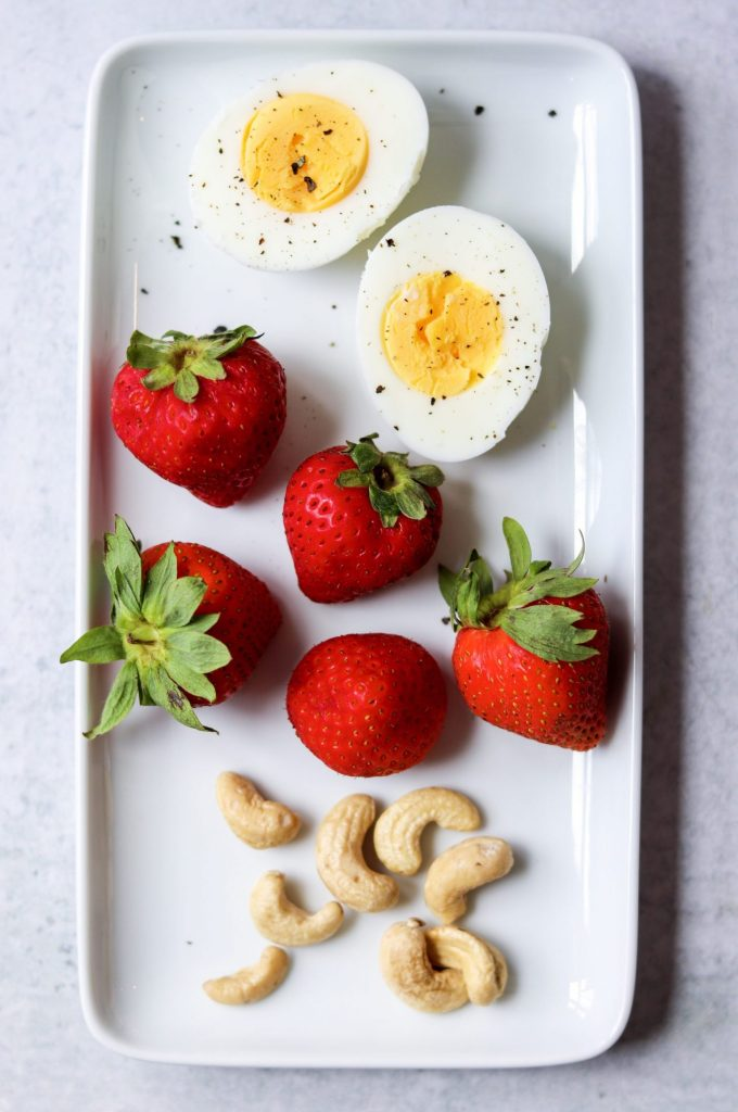 mini protein box snack idea