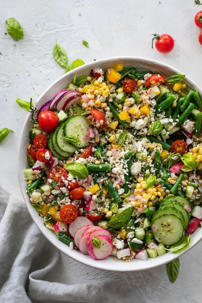 summer grain salad - spices in my DNA