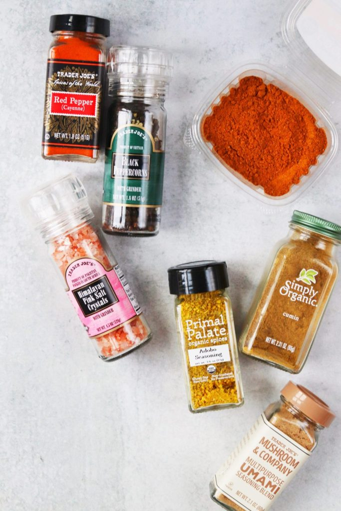 Pantry stapes - spices
