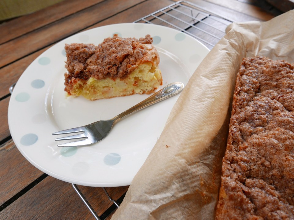 Scrummy Cinnamon Apple Cake