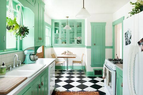 Kitchen Wall Color Green