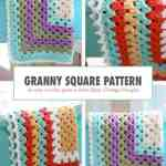 How To Crochet A Granny Square Blanket Daisy Cottage Designs