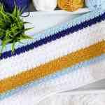 Modern Crochet Blanket Pattern Daisy Cottage Designs