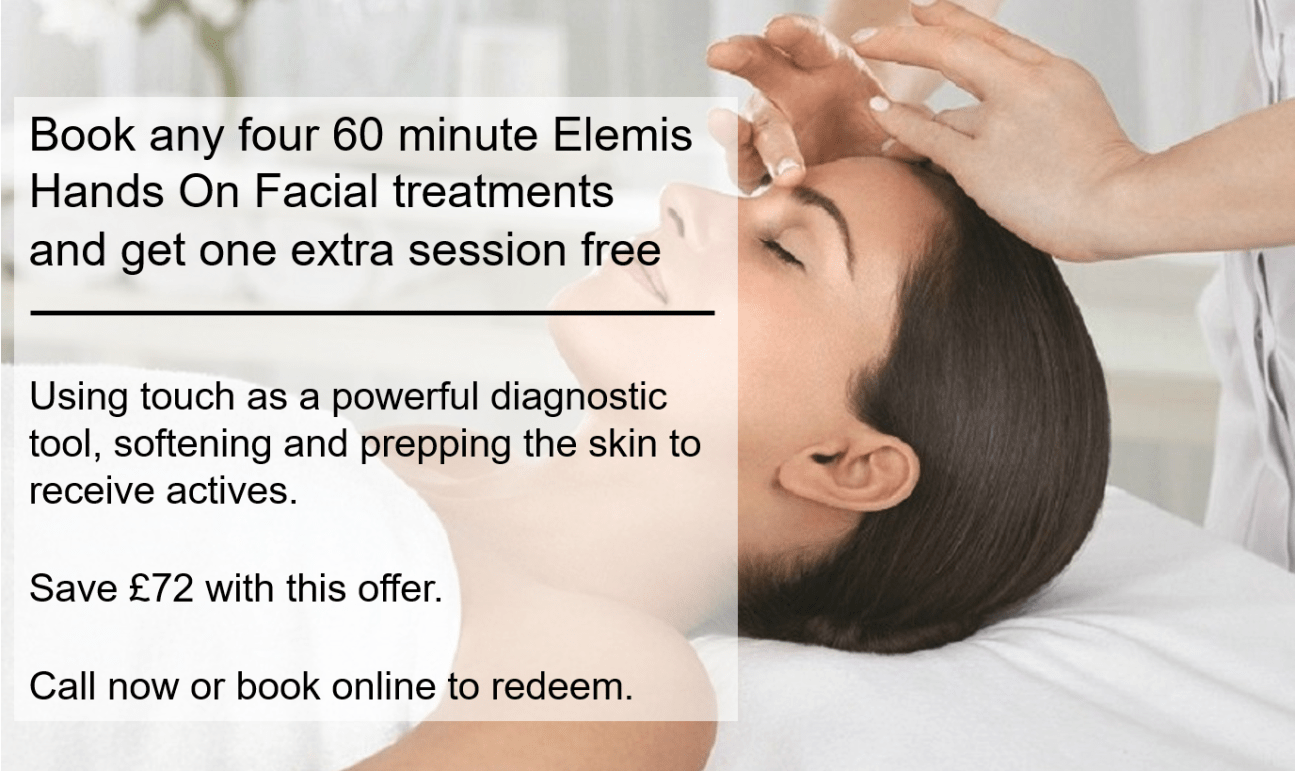 four elemis hands on and get 1 free