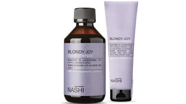 Nashi Blondy Joy Purple  Shampoo and Conditioner
