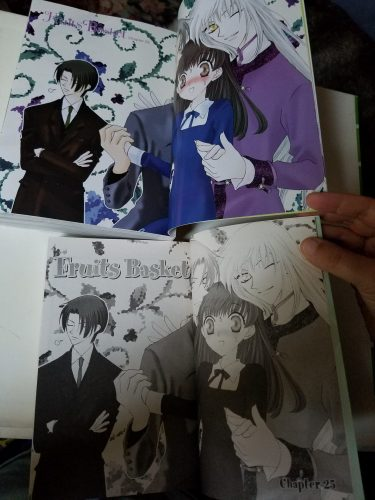 Fruits Basket Color Pages
