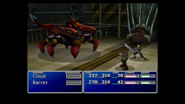 Final Fantasy VII Guard Scorpion