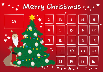 Advent Calendar Christmas Countdown