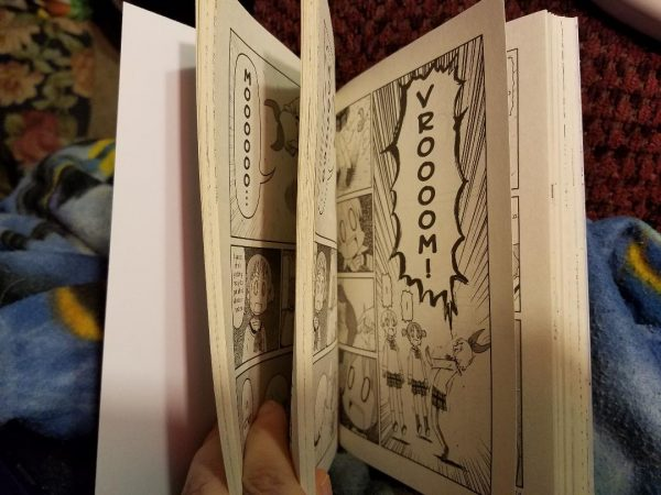 Nichijou Double Pages