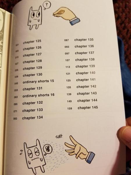 Nichijou Chapters