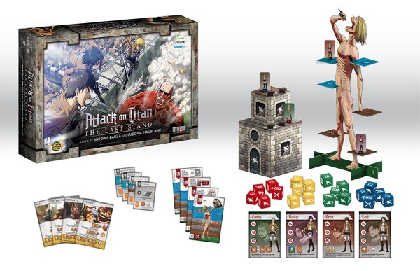 Attack on Titan: The Last Stand contents