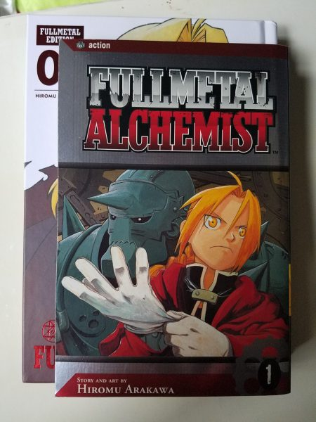 Fullmetal Alchemist original vs Fullmetal Edition size comparison