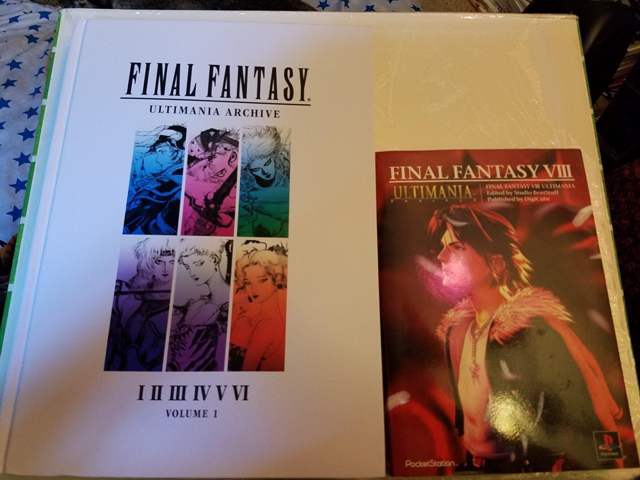 Final Fantasy Ultimania Archive 1 vs VII Ultimania
