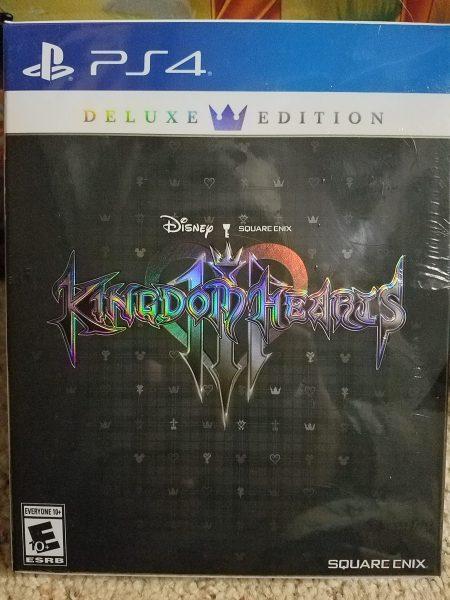 Kingdom Hearts III Deluxe Edition cover