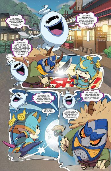 Yo-kai Watch (Comic) Sample