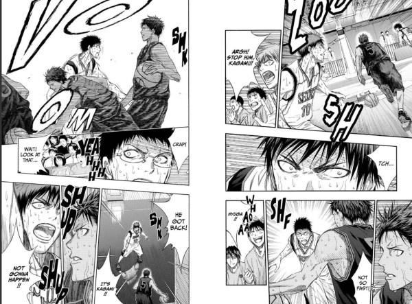 Kuroko's Basketball Sample 3