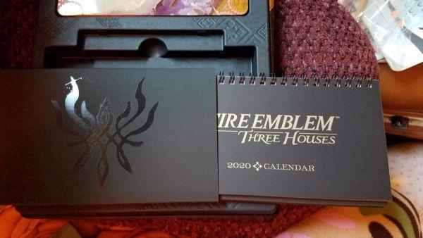 Fire Emblem: Three Houses Seasons of Warfare Edition Calendar