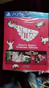 Catherine: Full Body Heart's Desire Premium Edition outer box