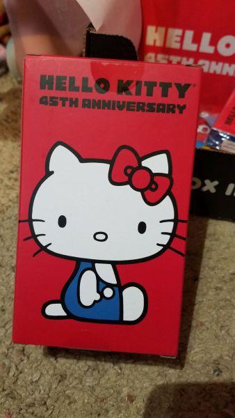 Hello Kitty Loot Crate 45th Anniversary figure