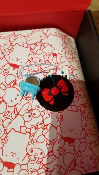 Hello Kitty Loot Crate 45th Anniversary trinket