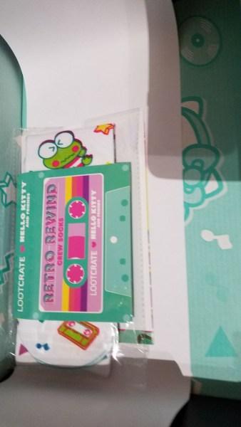 Hello Kitty Loot Crate Retro Rewind socks