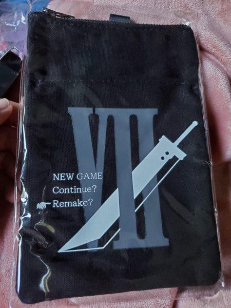 Final Fantasy VII Remake Premium Deluxe Edition canvas pouch
