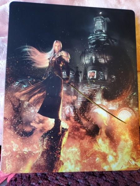 Final Fantasy VII Remake Premium Deluxe Edition steelbook