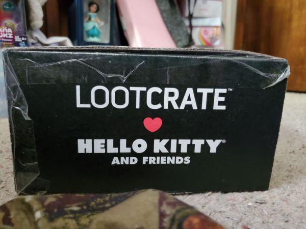 Hello Kitty Loot Crate Sweet Treats box