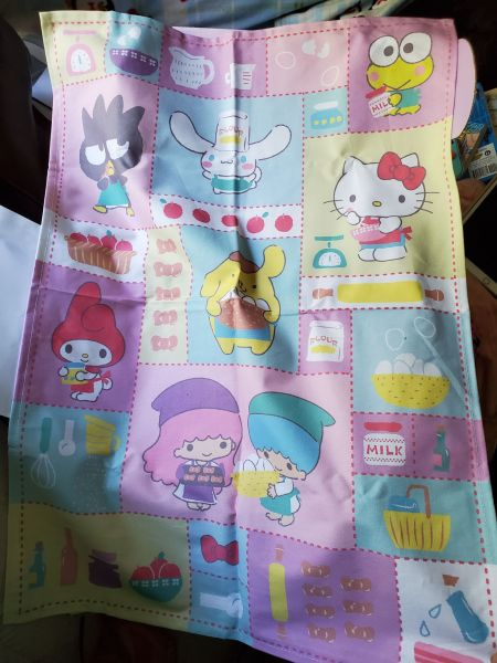 Hello Kitty Loot Crate Sweet Treats towel