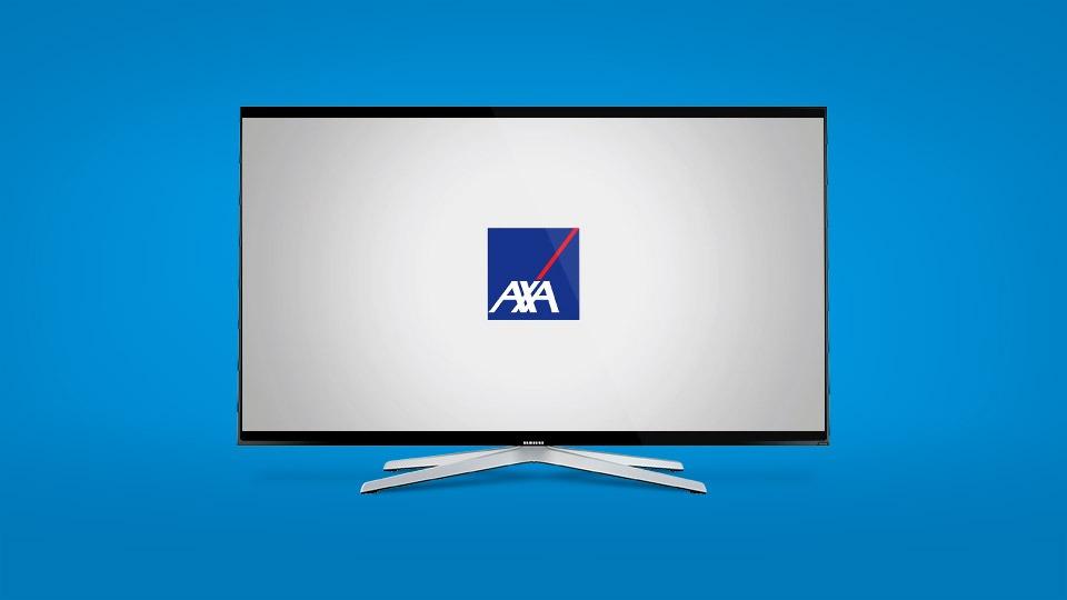 Mockup réalisé pour AXA par Dajm communication RH marque employeur
